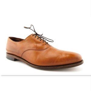 ALLEN EDMONDS Hazel Tan Leather Oxfords Shoes 11.5